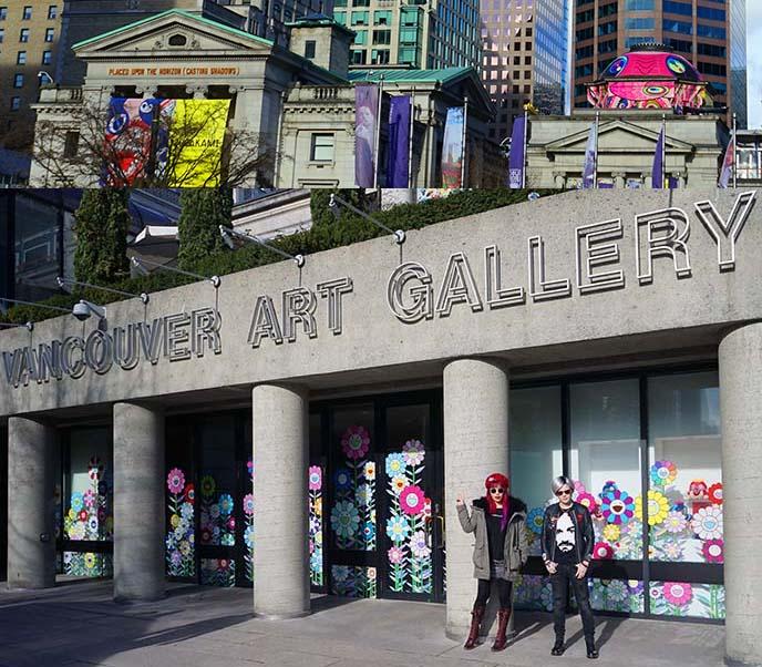 vancouver art gallery murakami exhibition