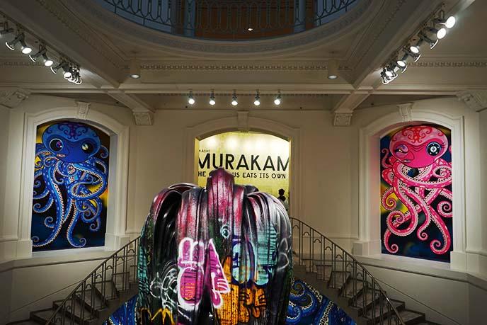 vancouver canada murakami takashi gallery