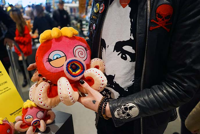 murakami octopus stuffed toy plush