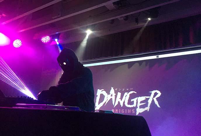 danger synthwave musician artist dj