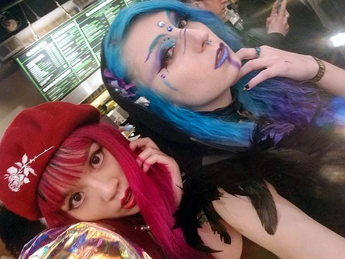 san francisco goths, synthwave parties