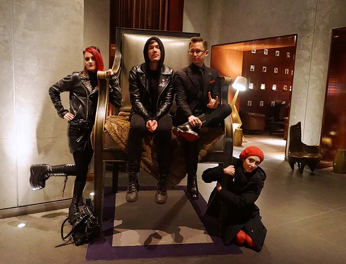 san francisco gothic clothing, parties