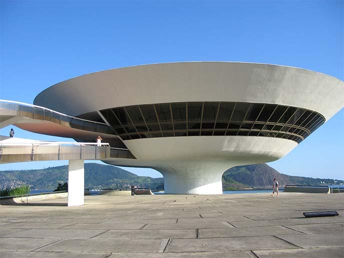 rio spaceship building museum brazil