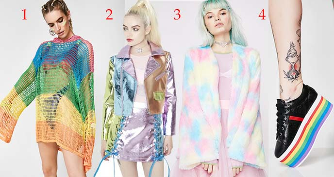 rainbow goth fashion dolls kill
