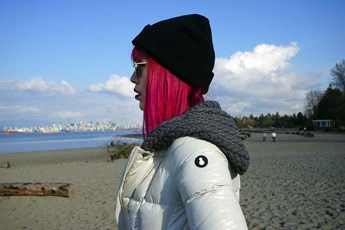 designer winter down coats
