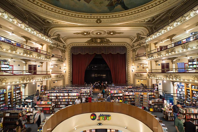 el ateneo theater book shop argentina