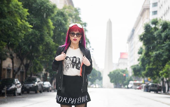 buenos aires obelisk fashion blogger argentina