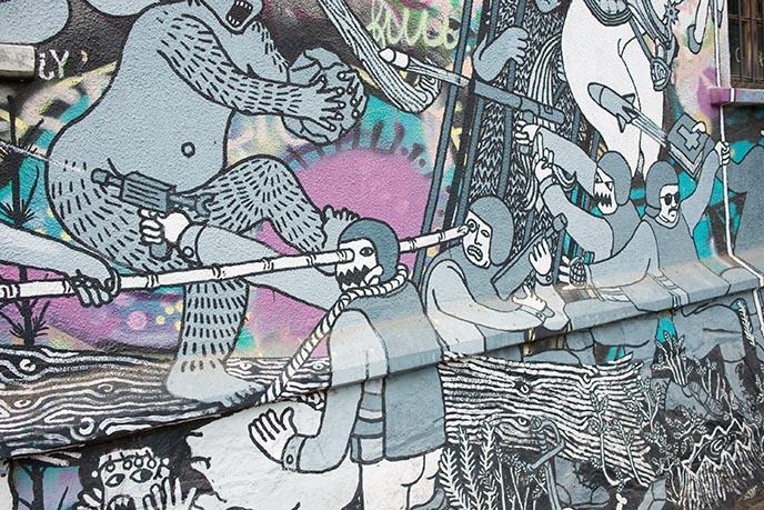 valparaiso street art history origins