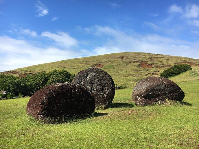 moai quarry easter island stones