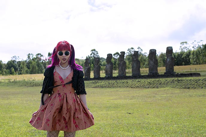fashion clothing easter island woman