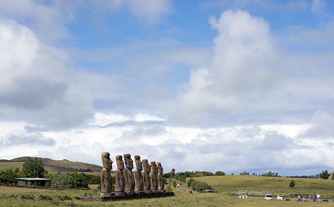 weird strange bizarre moai