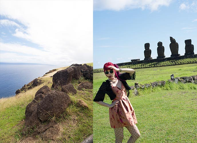 tour guide group easter island