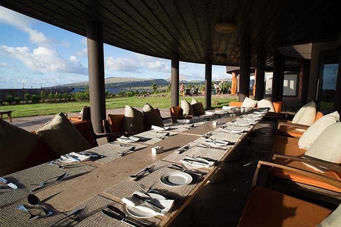 hangaroa eco village all inclusive dining