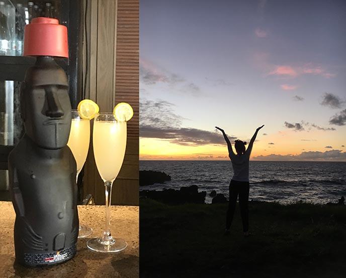 moai pisco sour cocktail stone head