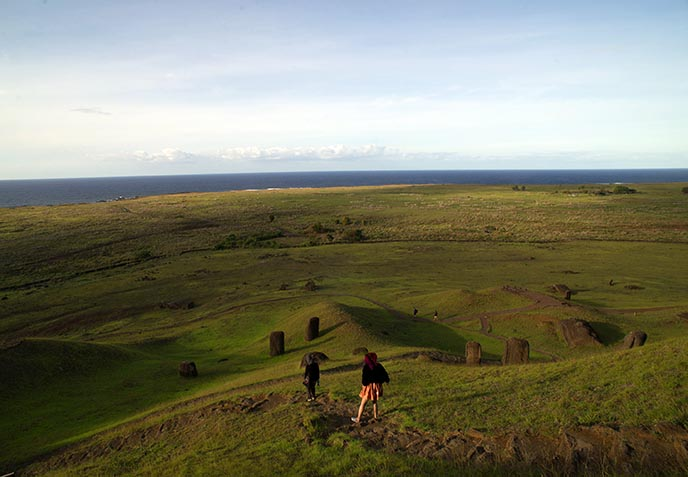 easter island walking tour, travel guide