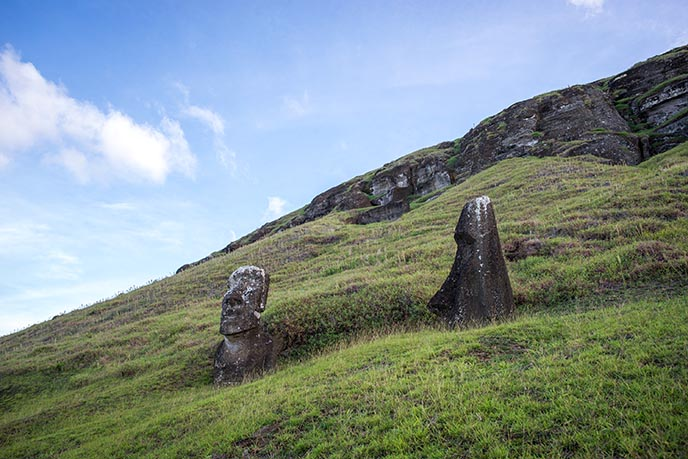 moai have bodies hidden excavated