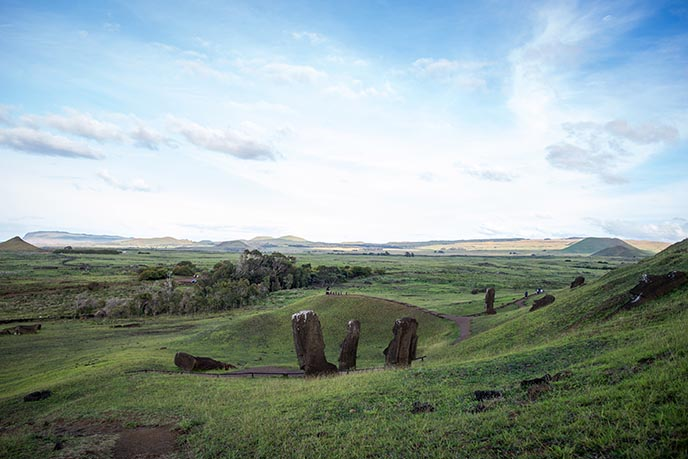 easter island landmarks famous attractions