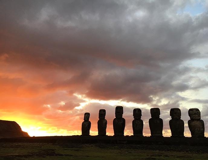 sun rise tour tongariki isla pascua