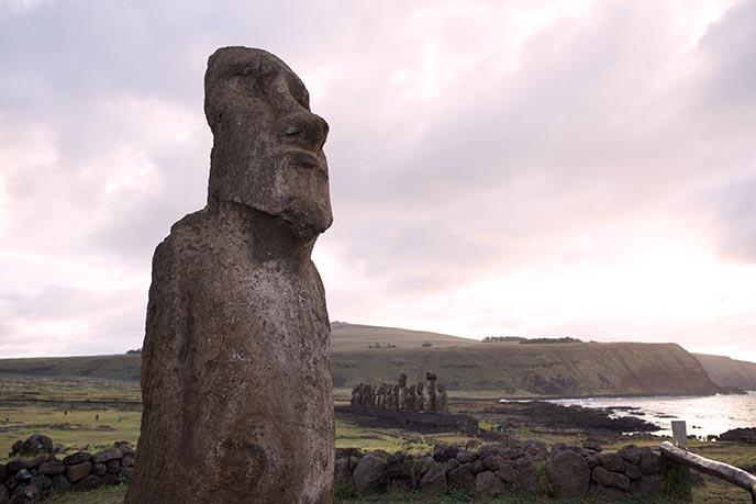 easter island restoration moai