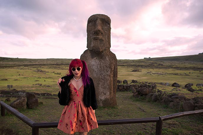 tongariki moai statues