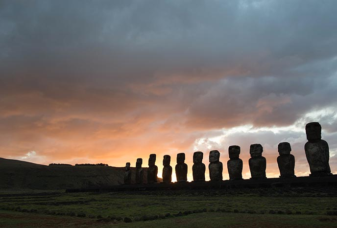 easter island morning tour