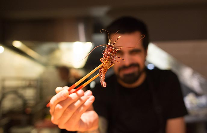 Chef Benjamin Nast DePatio restaurante