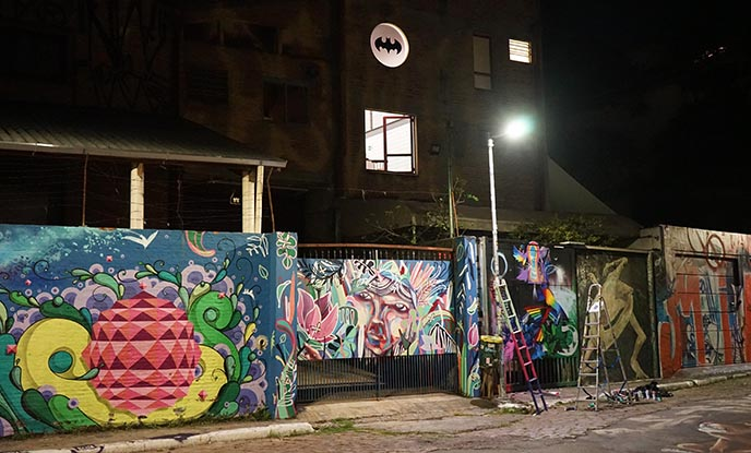 beco de batman sao paulo artists