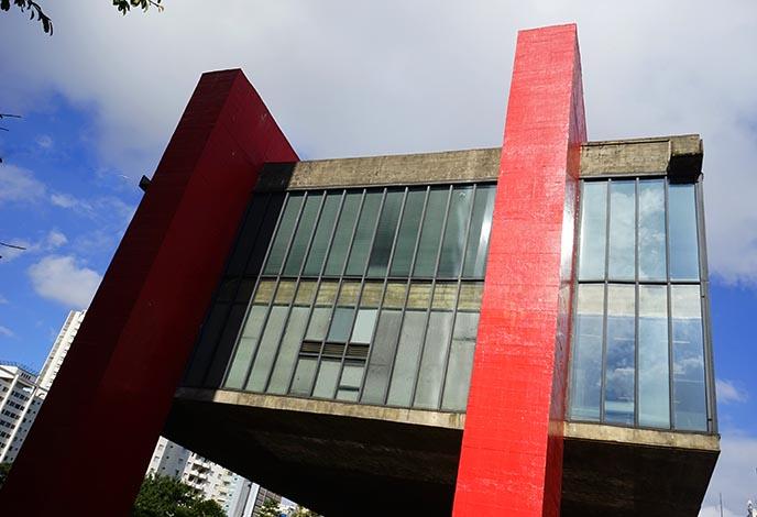 masp exterior sao paulo museum art