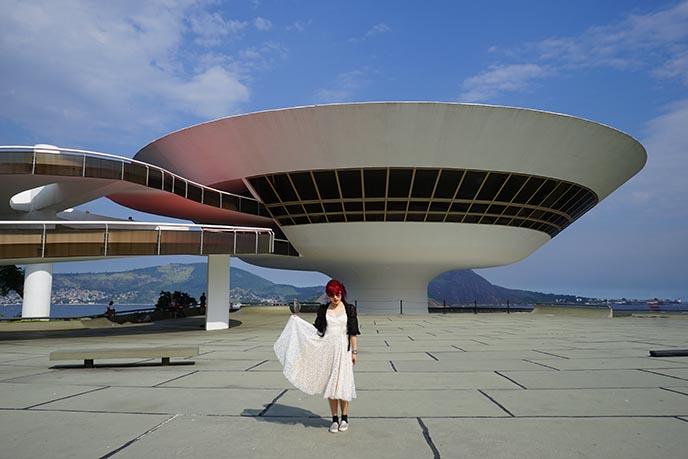 oscar niemeyer Niterói Contemporary Art Museum