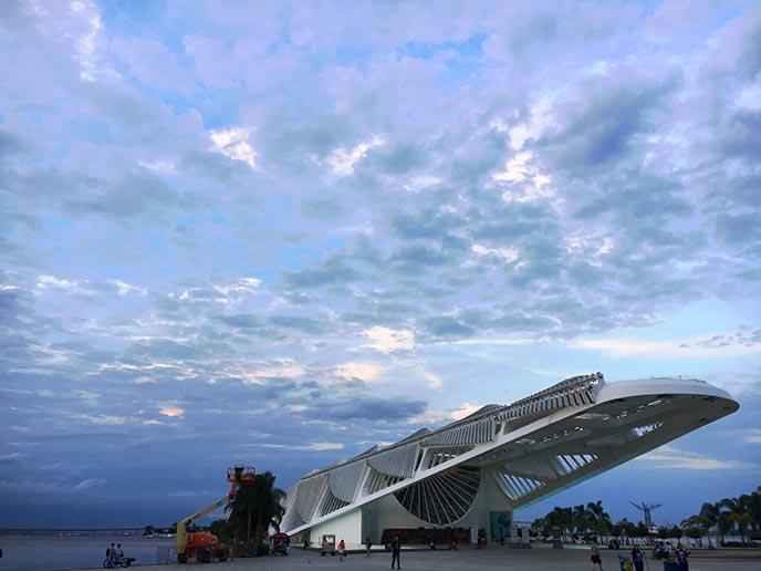 brazil spaceship modern museum