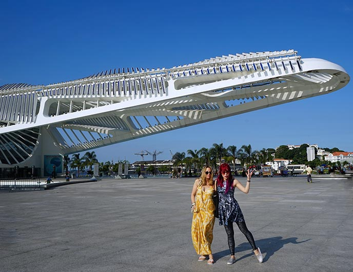 museum of tomorrow, rio brazil futurism