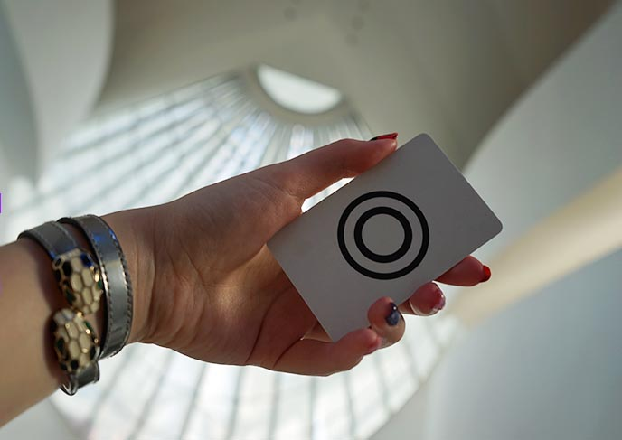 museum of tomorrow interaction card
