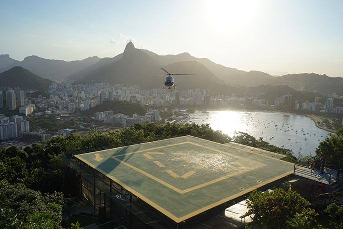 sugar loaf mountain helicopter ride