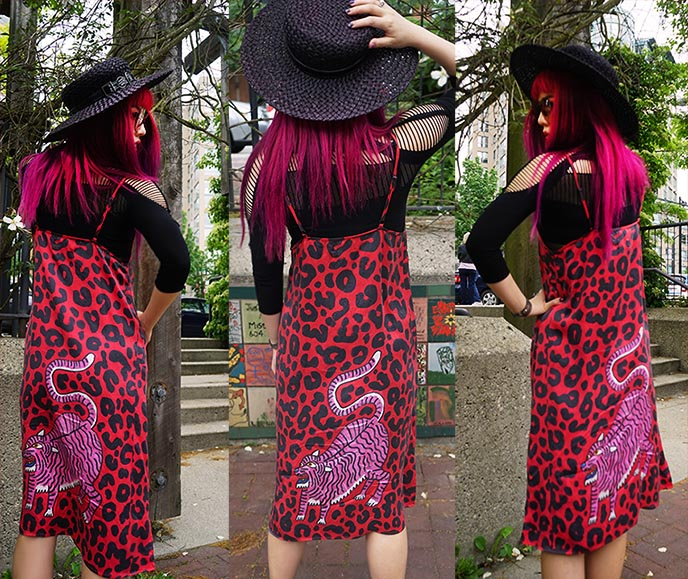 print all over me gentlethrills jaguar dress