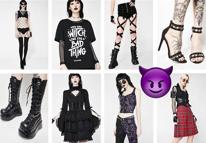 dolls kill dollskill goth clothes current mood