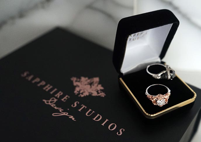sailor moon engagement rings jewellery