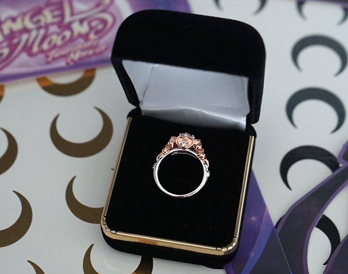 sapphire studios sailor moon ring