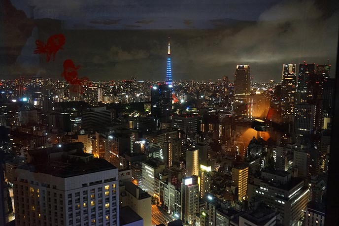 tokyo tower night view park hotel
