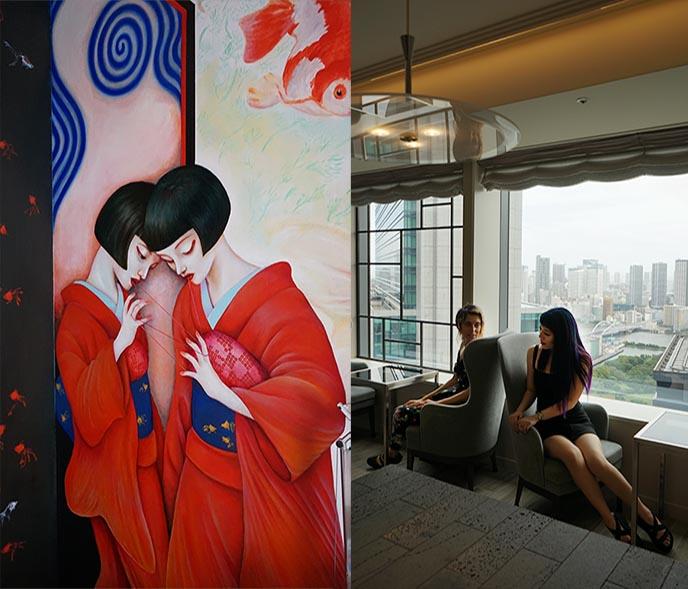 ark hotel themed artist rooms japanese