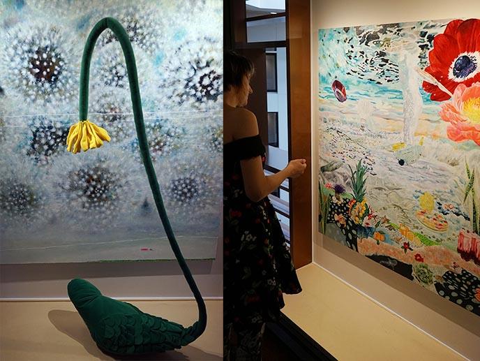 art exhibitions park hotel japan
