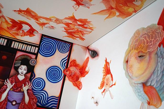 tokyo art hotels, luxury design hotels