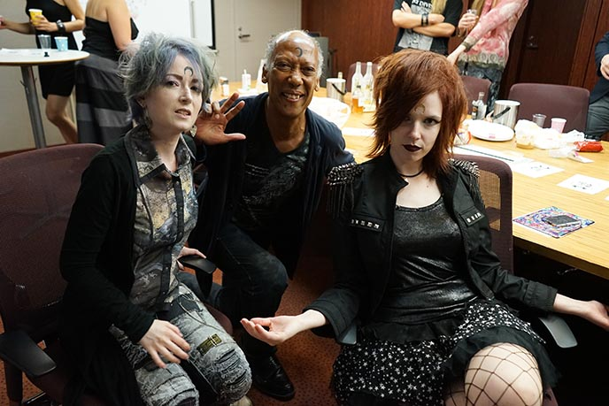 goth culture conference meeting