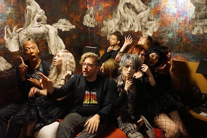 goth slumber party gothic sleepover