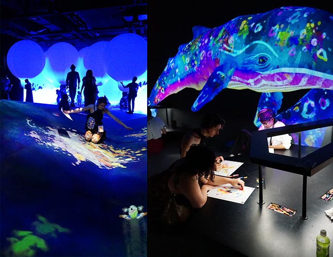 artists immersive digital art japan