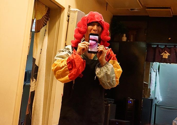 kagaya izakaya tokyo crazy restaurant