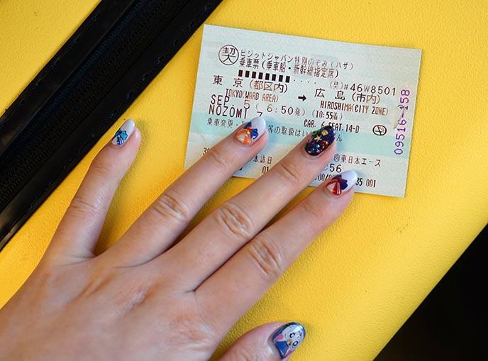 japan shinkansen train tickets
