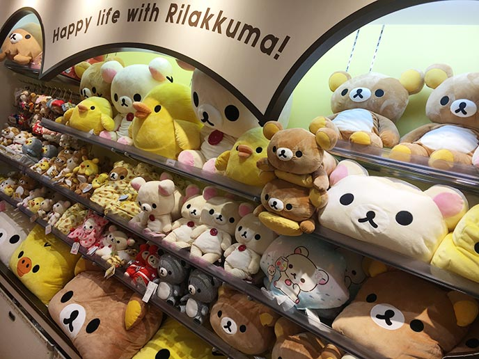 japan rilakkuma shop bear