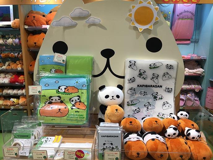 kapibarasan shop tokyo cute