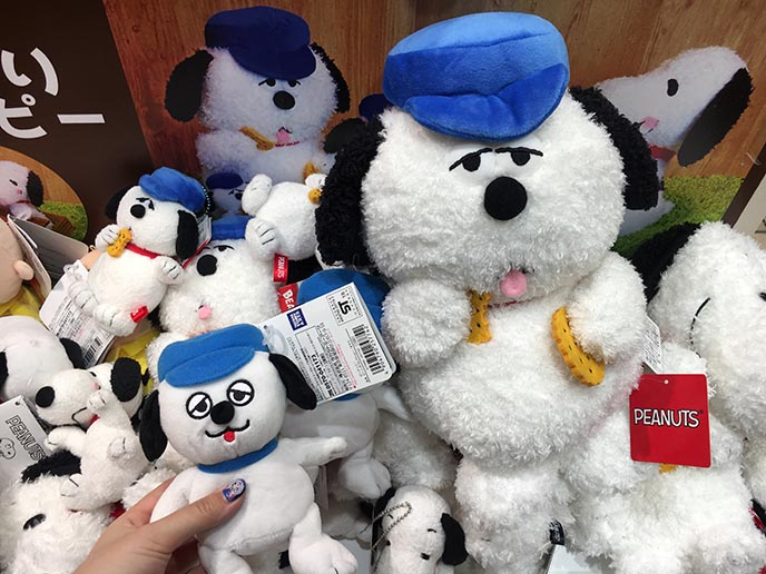 snoopy peanuts olaf dog stuffed animal