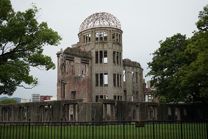 hiroshima atomic dome ruins